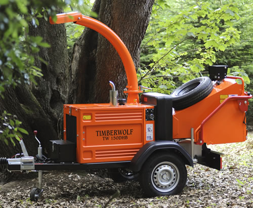 Timberwolf TW150DHB Chipper